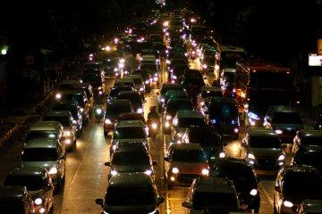 Kemacetan arus balik di Pantura