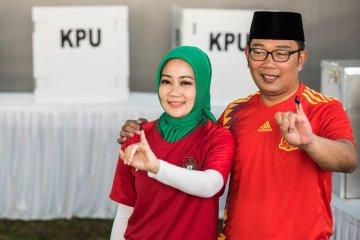 Ridwan Kamil gunakan hak pilih