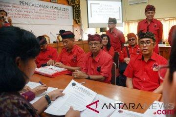 Pendaftaran Caleg DPRD Bali