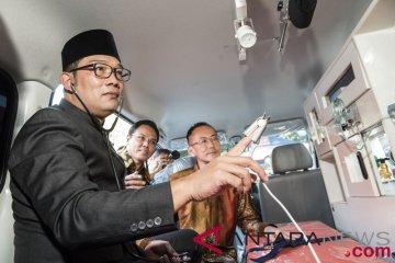 Bantuan ambulans mini ICU