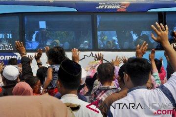 Melepas Jemaah Haji Banten
