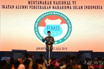 Presiden membuka munas ikatan alumni PMII