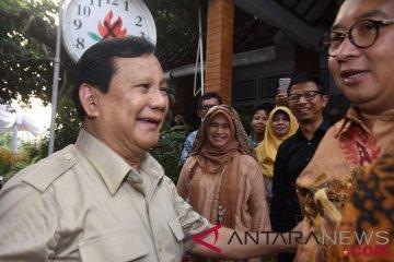 Prabowo bertemu Neno Warisman