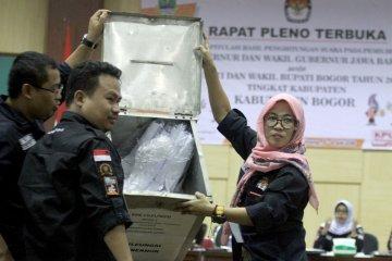 Rekapitulasi perhitungan suara Kabupaten Bogor