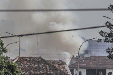 Kebakaran kawasan Kota Bambu