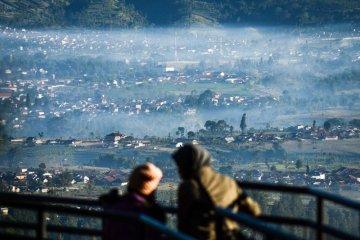 Cuaca dingin di Bandung