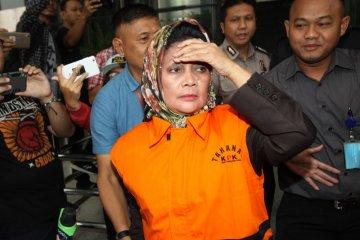 Anggota DPRD Sumut Helmiati ditahan KPK