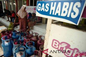 Kesulitan memperoleh gas elpiji tiga kilogram
