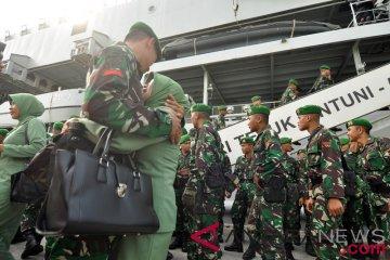 Pemberangkatan pasukan TNI Pamrahwan