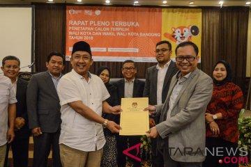 Penetapan Wali Kota Bandung
