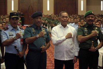Pengarahan prajurit TNI wilayah Medan