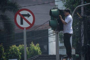 Perawatan lampu lalu lintas