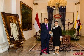 Pertemuan Menlu RI dengan Menlu Brunei