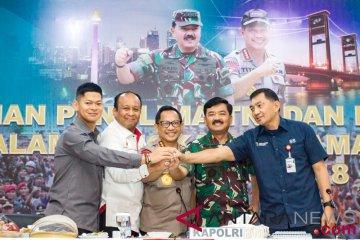 Rapat keamanan Asian Games 2018