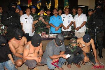 TNI gagalkan peredaran narkoba