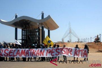 Tolak reklamasi CPI Makassar