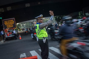 Polisi: Pelanggar ganjil-genap diarahkan ke jalan alternatif