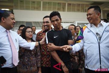 Ketua DPR Tinjau Venue Asian Games