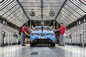 Nissan Juke sudah diproduksi 1 juta unit di pabrik Sunderland
