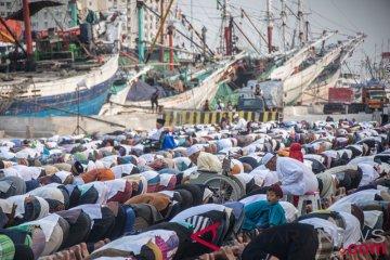Salat Idul Adha Pelabuhan Sunda Kelapa