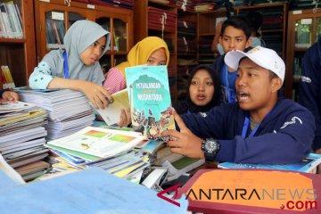 BUMN Hadir - SMN Kunjungi Perpustakaan