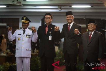 Pelantikan Penjabat Gubernur Jateng