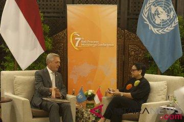 Bilateral Menlu RI-UNHCR
