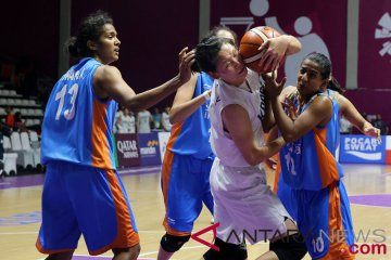 Basket Putri - Unified Korea vs India