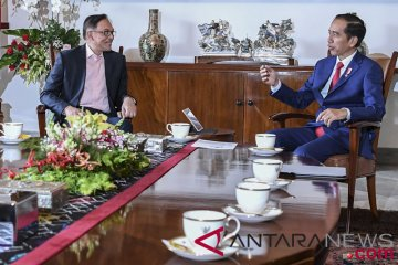 Presiden Terima Kunjungan Anwar Ibrahim