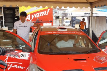 Rizal Sungkar susah payah juarai Merdeka Sprint Rally