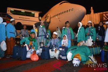 Kedatangan Jamaah Haji Surabaya