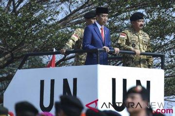 Presiden Melepas Kontingen Garuda