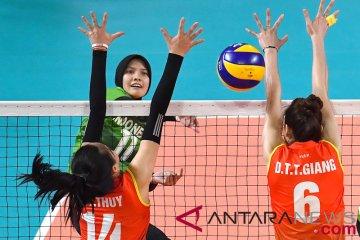 Voli Putri Semifinal 5-8 Indonesia vs Vietnam