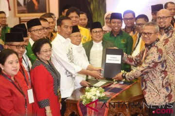 Pendaftaran Bakal Capres Jokowi