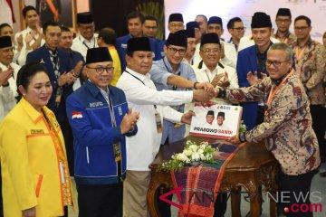 Pendaftaran Capres Prabowo-Sandi
