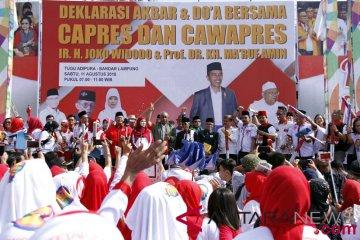 Deklarasi Relawan Jokowi-Ma'ruf Amin