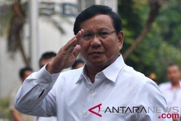 Prabowo Jalani Tes Kesehatan