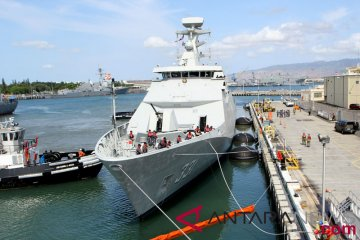 KRI tiba di Pearl Harbor