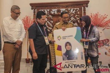 TransJakarta Gratis Wartawan Asian Games