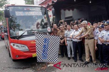 Peresmian BRT Trans Jateng Purwokerto-Purbalingga