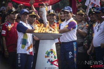 Torch Relay Asian Games 2018 Di Jakarta Timur