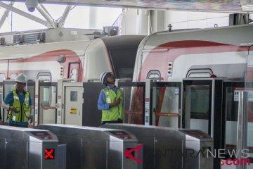 Persiapan Uji Coba LRT
