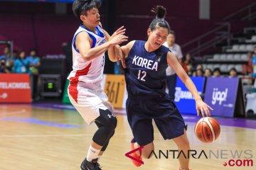 Basket Putri - Chinese Taipei vs Unified Korea