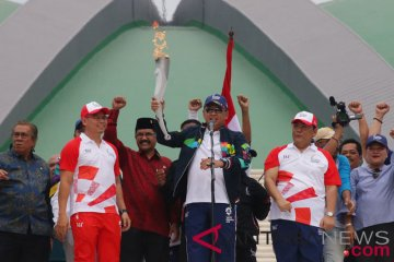 Torch Relay Asian Games 2018 Di DPR