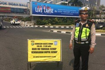 Pemprov DKI Jakarta: ganjil genap harusnya sudah tersosialisasi baik
