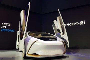 Tampil beda, Toyota unjuk teknologi mobil masa depan pada GIIAS 2018
