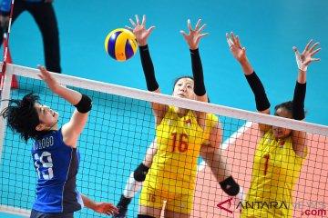 Bola - Semifinal Putri - Jepang Vs China
