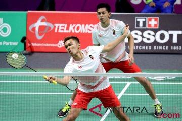 Bulu Tangkis Final Putra Indonesia vs Cina