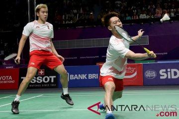 Bulu Tangkis Semifinal Putra Indonesia vs Jepang