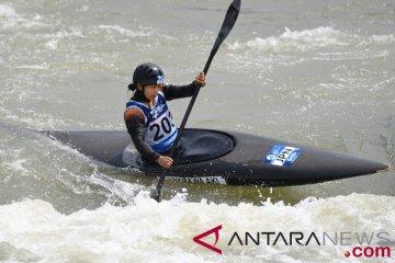 Tim kano slalom Indonesia bertanding tanpa target tapi keluarkan kemampuan terbaik